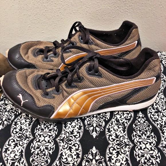 Puma Shoes | Brown Light Weight Cross